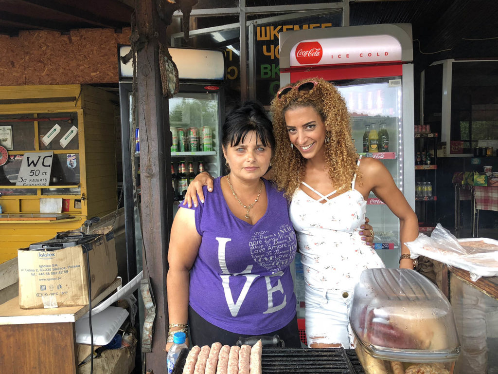 local bulgarian food vendor